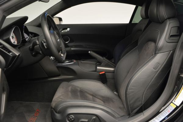 Used 2012 Audi R8 GT (R tronic) for sale Sold at Maserati of Greenwich in Greenwich CT 06830 14