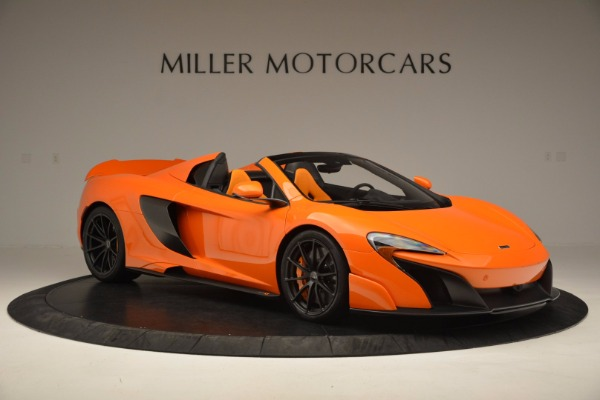 Used 2016 McLaren 675LT Spider Convertible for sale Sold at Maserati of Greenwich in Greenwich CT 06830 10