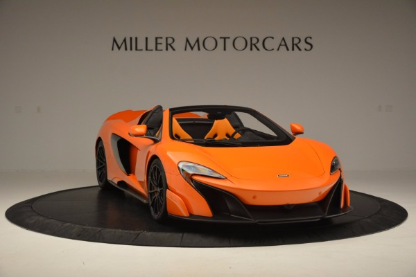 Used 2016 McLaren 675LT Spider Convertible for sale Sold at Maserati of Greenwich in Greenwich CT 06830 11