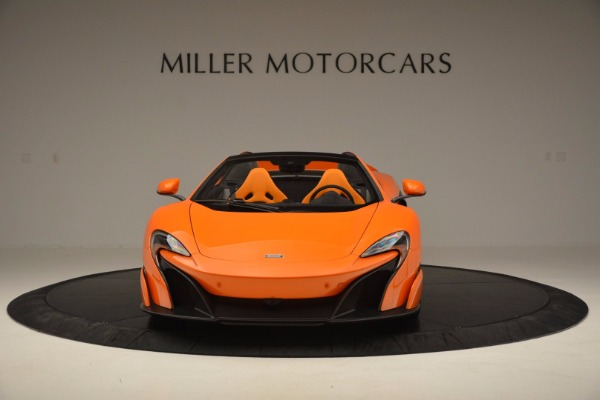 Used 2016 McLaren 675LT Spider Convertible for sale Sold at Maserati of Greenwich in Greenwich CT 06830 12