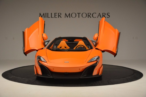 Used 2016 McLaren 675LT Spider Convertible for sale Sold at Maserati of Greenwich in Greenwich CT 06830 13