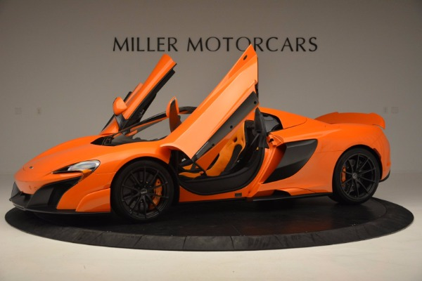 Used 2016 McLaren 675LT Spider Convertible for sale Sold at Maserati of Greenwich in Greenwich CT 06830 14