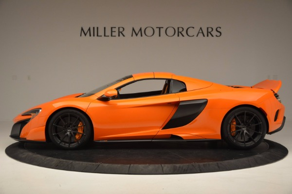 Used 2016 McLaren 675LT Spider Convertible for sale Sold at Maserati of Greenwich in Greenwich CT 06830 15