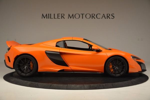 Used 2016 McLaren 675LT Spider Convertible for sale Sold at Maserati of Greenwich in Greenwich CT 06830 19
