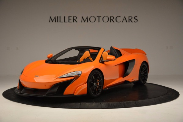 Used 2016 McLaren 675LT Spider Convertible for sale Sold at Maserati of Greenwich in Greenwich CT 06830 2
