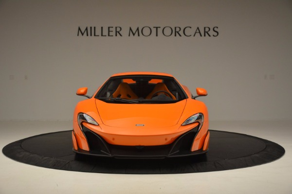 Used 2016 McLaren 675LT Spider Convertible for sale Sold at Maserati of Greenwich in Greenwich CT 06830 21
