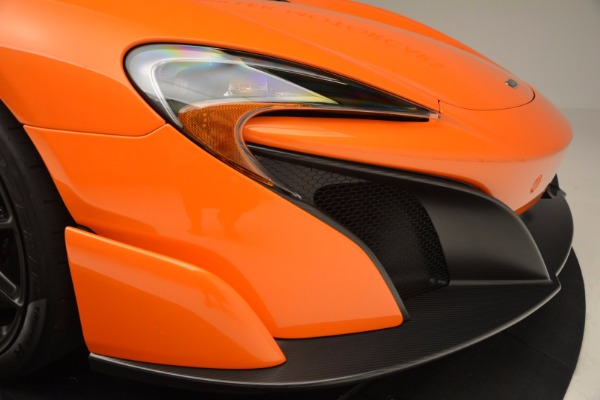 Used 2016 McLaren 675LT Spider Convertible for sale Sold at Maserati of Greenwich in Greenwich CT 06830 28