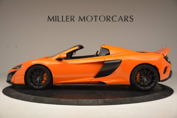Used 2016 McLaren 675LT Spider Convertible for sale Sold at Maserati of Greenwich in Greenwich CT 06830 3