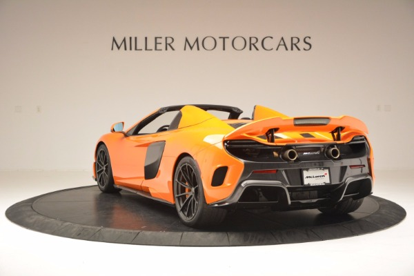 Used 2016 McLaren 675LT Spider Convertible for sale Sold at Maserati of Greenwich in Greenwich CT 06830 5