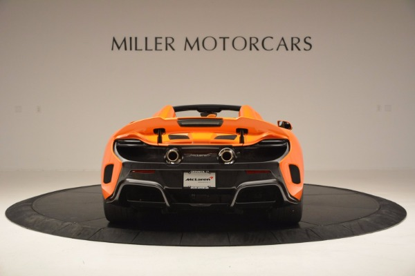 Used 2016 McLaren 675LT Spider Convertible for sale Sold at Maserati of Greenwich in Greenwich CT 06830 6