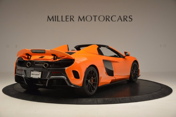 Used 2016 McLaren 675LT Spider Convertible for sale Sold at Maserati of Greenwich in Greenwich CT 06830 7