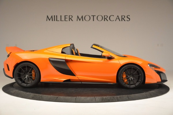Used 2016 McLaren 675LT Spider Convertible for sale Sold at Maserati of Greenwich in Greenwich CT 06830 9
