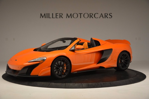 Used 2016 McLaren 675LT Spider Convertible for sale Sold at Maserati of Greenwich in Greenwich CT 06830 1