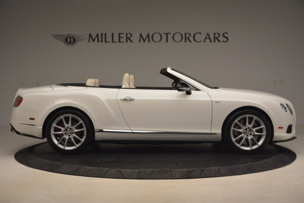 Used 2015 Bentley Continental GT V8 S for sale Sold at Maserati of Greenwich in Greenwich CT 06830 9
