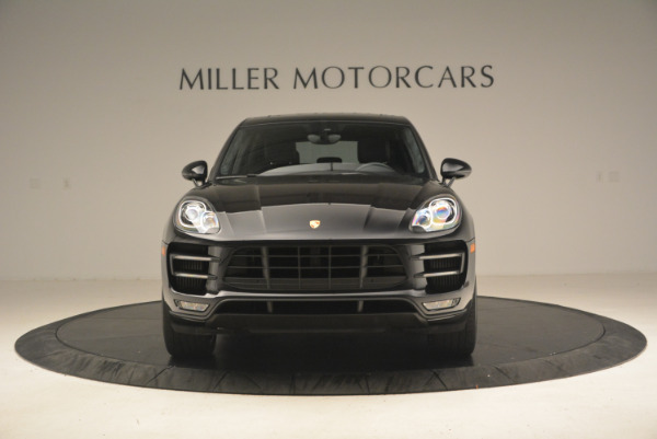Used 2016 Porsche Macan Turbo for sale Sold at Maserati of Greenwich in Greenwich CT 06830 12