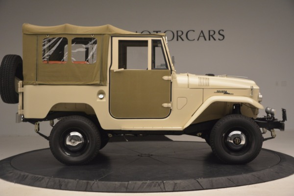 Used 1966 Toyota FJ40 Land Cruiser Land Cruiser for sale Sold at Maserati of Greenwich in Greenwich CT 06830 12
