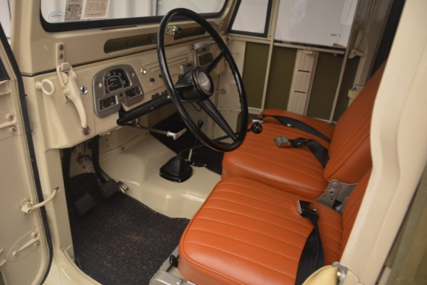 Used 1966 Toyota FJ40 Land Cruiser Land Cruiser for sale Sold at Maserati of Greenwich in Greenwich CT 06830 15