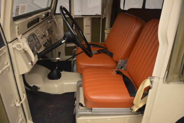 Used 1966 Toyota FJ40 Land Cruiser Land Cruiser for sale Sold at Maserati of Greenwich in Greenwich CT 06830 16