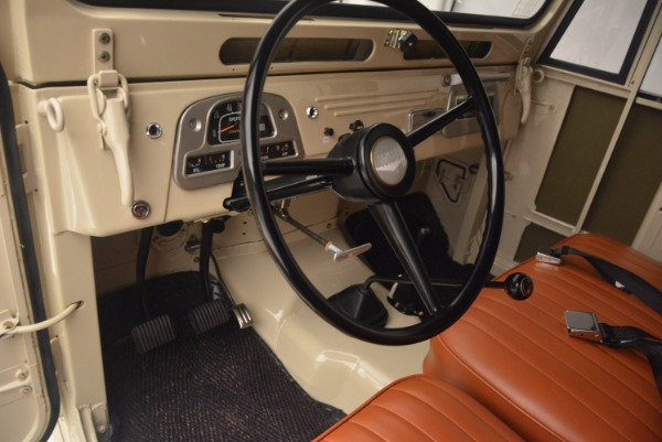 Used 1966 Toyota FJ40 Land Cruiser Land Cruiser for sale Sold at Maserati of Greenwich in Greenwich CT 06830 17