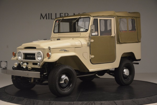 Used 1966 Toyota FJ40 Land Cruiser Land Cruiser for sale Sold at Maserati of Greenwich in Greenwich CT 06830 2