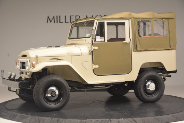 Used 1966 Toyota FJ40 Land Cruiser Land Cruiser for sale Sold at Maserati of Greenwich in Greenwich CT 06830 3