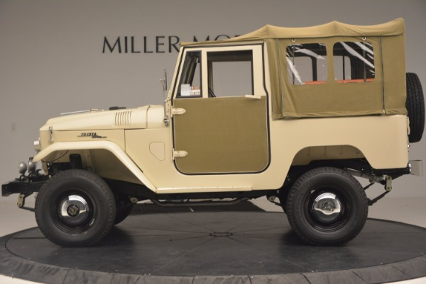 Used 1966 Toyota FJ40 Land Cruiser Land Cruiser for sale Sold at Maserati of Greenwich in Greenwich CT 06830 4
