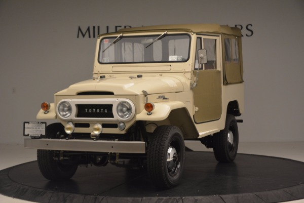 Used 1966 Toyota FJ40 Land Cruiser Land Cruiser for sale Sold at Maserati of Greenwich in Greenwich CT 06830 1