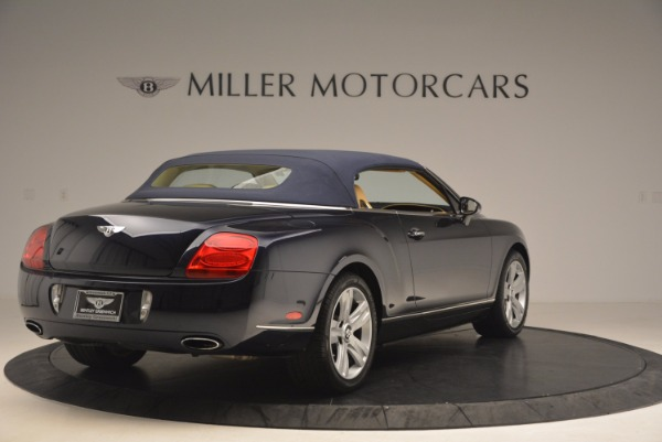 Used 2007 Bentley Continental GTC for sale Sold at Maserati of Greenwich in Greenwich CT 06830 20