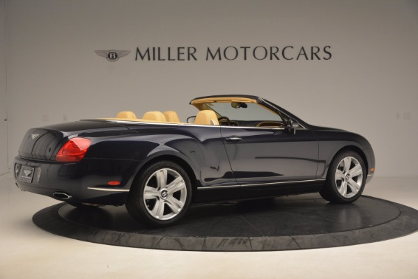 Used 2007 Bentley Continental GTC for sale Sold at Maserati of Greenwich in Greenwich CT 06830 8