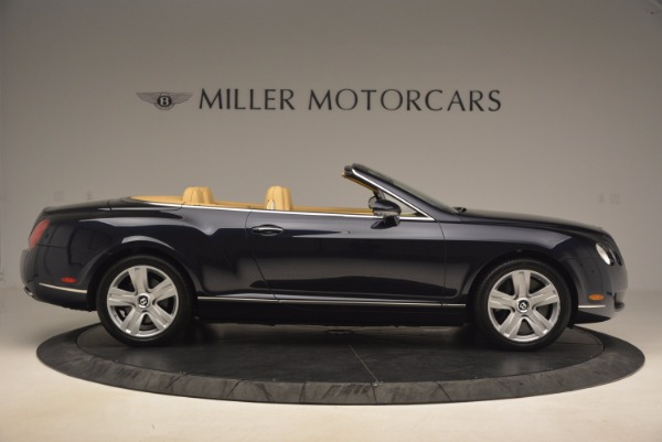 Used 2007 Bentley Continental GTC for sale Sold at Maserati of Greenwich in Greenwich CT 06830 9