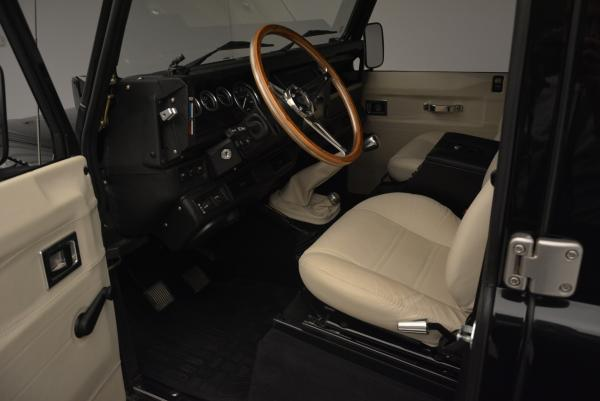 Used 1985 LAND ROVER Defender 110 for sale Sold at Maserati of Greenwich in Greenwich CT 06830 12