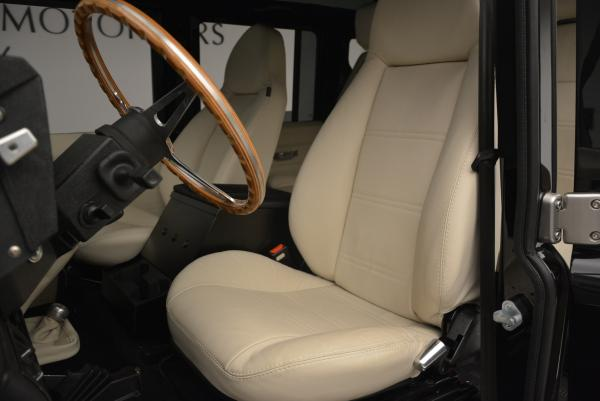 Used 1985 LAND ROVER Defender 110 for sale Sold at Maserati of Greenwich in Greenwich CT 06830 13