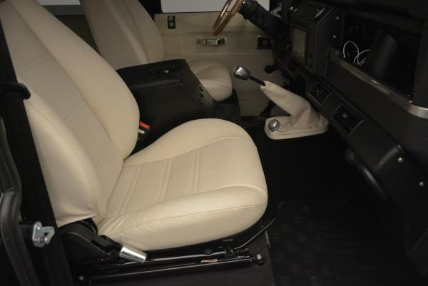 Used 1985 LAND ROVER Defender 110 for sale Sold at Maserati of Greenwich in Greenwich CT 06830 16