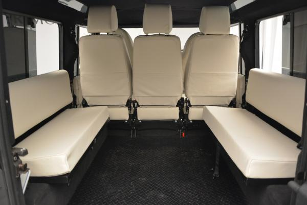 Used 1985 LAND ROVER Defender 110 for sale Sold at Maserati of Greenwich in Greenwich CT 06830 18
