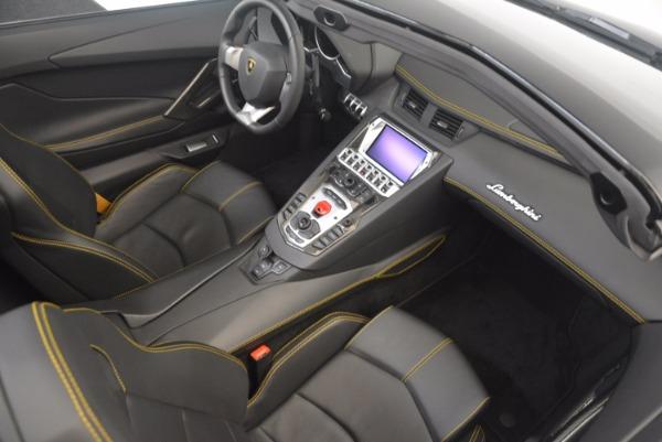 Used 2015 Lamborghini Aventador LP 700-4 for sale Sold at Maserati of Greenwich in Greenwich CT 06830 27