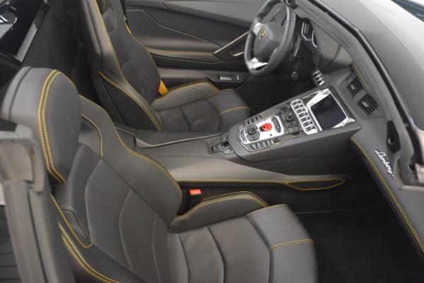 Used 2015 Lamborghini Aventador LP 700-4 for sale Sold at Maserati of Greenwich in Greenwich CT 06830 28