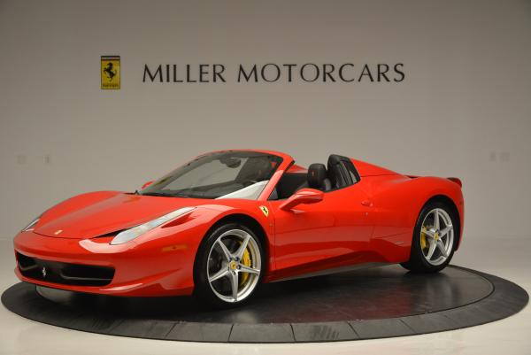 Used 2014 Ferrari 458 Spider for sale Sold at Maserati of Greenwich in Greenwich CT 06830 2