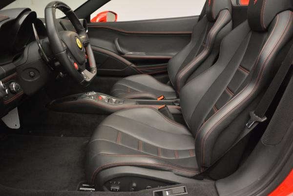 Used 2014 Ferrari 458 Spider for sale Sold at Maserati of Greenwich in Greenwich CT 06830 26