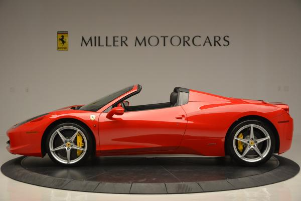 Used 2014 Ferrari 458 Spider for sale Sold at Maserati of Greenwich in Greenwich CT 06830 3