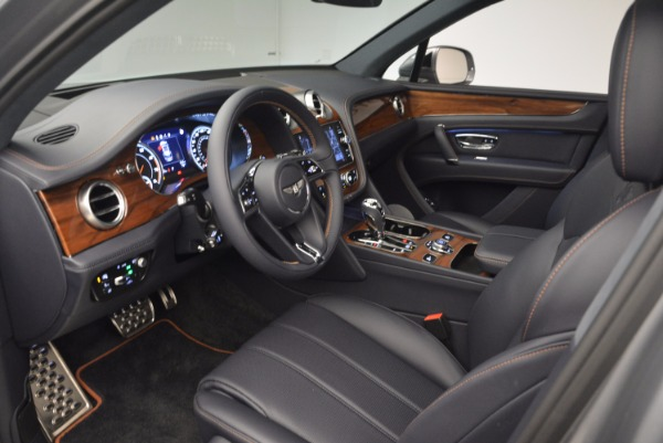 New 2018 Bentley Bentayga Onyx for sale Sold at Maserati of Greenwich in Greenwich CT 06830 25