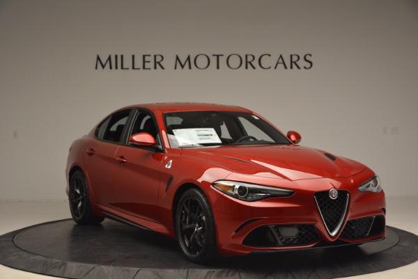 New 2017 Alfa Romeo Giulia Quadrifoglio Quadrifoglio for sale Sold at Maserati of Greenwich in Greenwich CT 06830 11