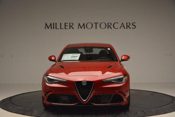 New 2017 Alfa Romeo Giulia Quadrifoglio Quadrifoglio for sale Sold at Maserati of Greenwich in Greenwich CT 06830 12