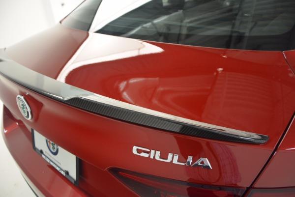 New 2017 Alfa Romeo Giulia Quadrifoglio Quadrifoglio for sale Sold at Maserati of Greenwich in Greenwich CT 06830 27
