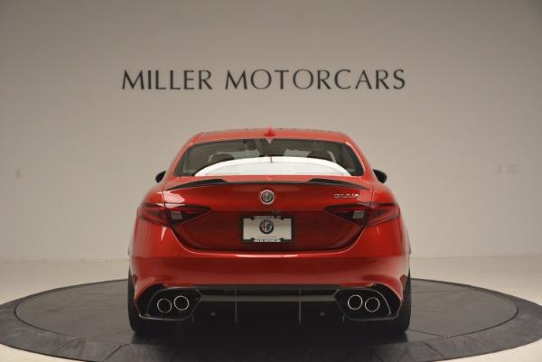 New 2017 Alfa Romeo Giulia Quadrifoglio Quadrifoglio for sale Sold at Maserati of Greenwich in Greenwich CT 06830 6