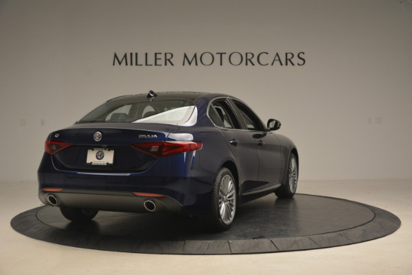 New 2017 Alfa Romeo Giulia Ti Q4 for sale Sold at Maserati of Greenwich in Greenwich CT 06830 7