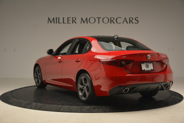 New 2017 Alfa Romeo Giulia Q4 for sale Sold at Maserati of Greenwich in Greenwich CT 06830 6