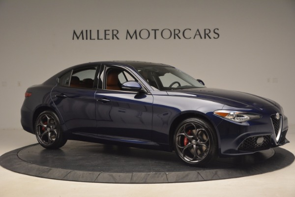 New 2017 Alfa Romeo Giulia Ti Q4 for sale Sold at Maserati of Greenwich in Greenwich CT 06830 10