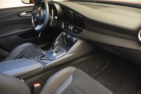 Used 2017 Alfa Romeo Giulia Quadrifoglio for sale Sold at Maserati of Greenwich in Greenwich CT 06830 21