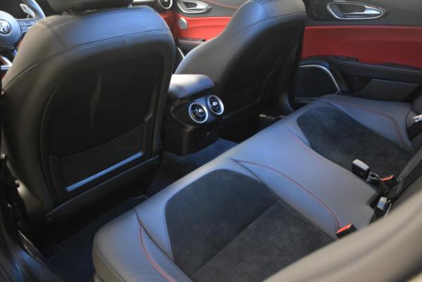 New 2017 Alfa Romeo Giulia Quadrifoglio for sale Sold at Maserati of Greenwich in Greenwich CT 06830 19