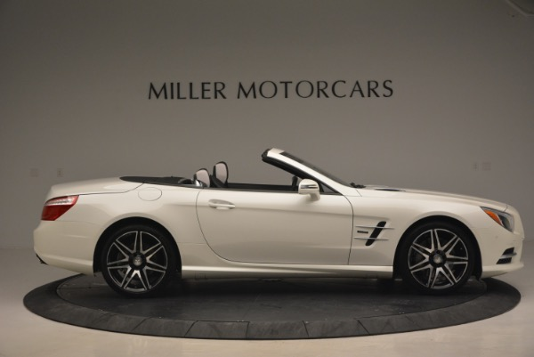 Used 2015 Mercedes Benz SL-Class SL 550 for sale Sold at Maserati of Greenwich in Greenwich CT 06830 10